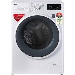 LG 6 kg Fully Automatic Front Load with In-built Heater White(FHT1006ZNW)