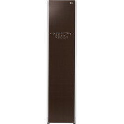 LG Smart Wi-Fi TrueSteam Clothing Care Styler - Refresh, Sanitize & Wrinkle Free Clothes Linen Brown(S3RF)