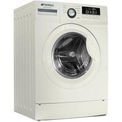 Sansui 6 kg Fully Automatic Front Load with In-built Heater White(JSX60FFL-2022S)
