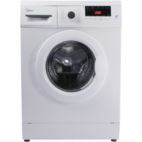 Midea 7 kg Garment Sterilization Fully Automatic Front Load with In-built Heater White(MWMFL070GBF)