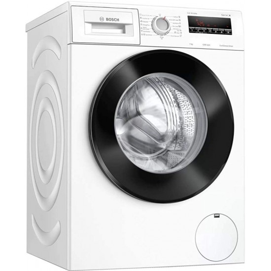 BOSCH 7 kg Fully Automatic Front Load with In-built Heater White(WAJ2426WIN)