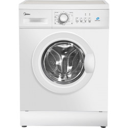 Midea 6 kg Fully Automatic Front Load with In-built Heater White(MWMFL060HEF)