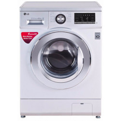 LG 8 kg Fully Automatic Front Load with In-built Heater Silver(FH4G6TDNL42)