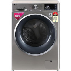 LG 7 kg Fully Automatic Front Load with In-built Heater Silver(FHT1207ZNS)