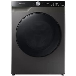 SAMSUNG 10 Washer with Dryer with In-built Heater Grey, Black(WD10T704DBX)