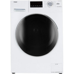 Haier 6 kg Fully Automatic Front Load with In-built Heater White(HW60-10636WNZP)