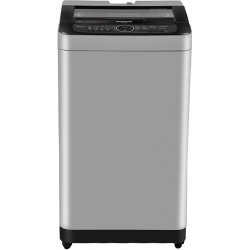 Panasonic 7 kg Fully Automatic Top Load with In-built Heater Silver(NA-F70BH9MRB)