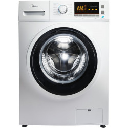 Midea 8.5 kg Magic Wash Fully Automatic Front Load with In-built Heater White(MWMFL085PRF)