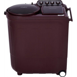 Whirlpool 8 kg 5 Star, Power Dry Technology Semi Automatic Top Load Maroon(ACE 8.0 TRB DRY WINE DAZZLE(5YR))