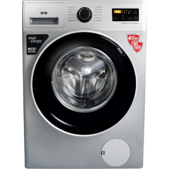 IFB 7 kg 5 Star Fully Automatic Front Load with In-built Heater Silver(SERENA ZXS)