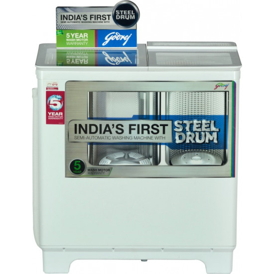 Godrej 8 kg Semi Automatic Top Load Brown, White(800 PDS/WS 800 PDS)