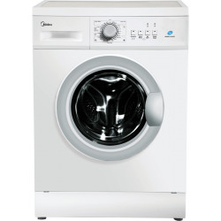 Midea 7 kg Fully Automatic Front Load with In-built Heater White(MWMFL070HEF)