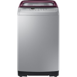 SAMSUNG 6.5 kg Fully Automatic Top Load Silver(WA65A4022FS)