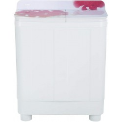 Haier 8.5 kg Semi Automatic Top Load Red, White(HTW85-178)