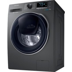SAMSUNG 9/6 kg For Complete Drying Washer with Dryer with In-built Heater Grey(WD90K6410OX/TL)